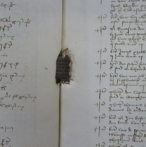 Stadsrekening over het jaar 1472-73. Stadsarchief Mechelen.