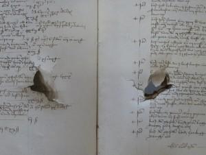 Stadsrekening over het jaar 1478-79. Stadsarchief Mechelen.