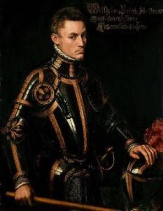 Willem van Oranje in 1554. Bron: http://historiek.net/standbeeld-willem-van-oranje-onthuld-in-breda/43336/