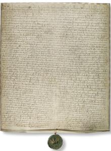 Stadsrecht van Haarlem. Stadsbestuur van Haarlem (Stadsarchief van Haarlem) 1245-1572, inv.nrs. 11 en 12.