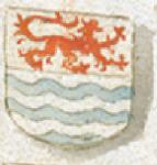 Wapenschild van Zeeland, ca. 1480-1500. Anthonis de Roovere, Cronicke van Vlaenderen. Brugge, Openbare Bibliotheek, ms. 437 http://www.flandrica.be/items/show/904/