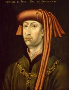 Portret van Filips de Goede (1396-1467). Vermoedelijk 16de eeuwse kopie. Noordbrabants museum, nr. 00834.