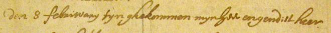 Origineel afschrift van Butkens (bron: Hoge Raad van Adel, Archief Familie van Slingelandt)